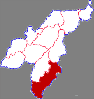Qihe County County in Shandong, Peoples Republic of China