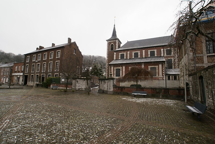 Flémalle (Chokier),  Belgium: Pope Marcellinus Church
