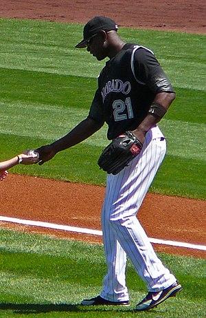 Choo Freeman - Freeman with the Colorado Rockies in 2006