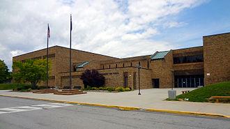 Christiansburg High School - Image: Christiansburg High school Building