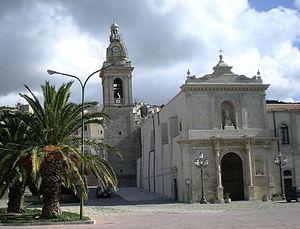 Chiaramonte Gulfi - The church of San Vito.