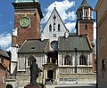 Church of St. Stanislaus and St. Wenceslaus, facade, Wawel 1, Old Town, Krakow, Poland.jpg