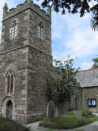 Manaccan - Manaccan church