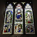 Church of St Mary the Virgin, Woodnesborough, Kent - Mary Lydia Savage stained glass window.jpg