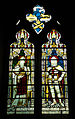 Church of St Nicholas, Carlton Scroop - 1914-18 WWI comemorative stained window.jpg