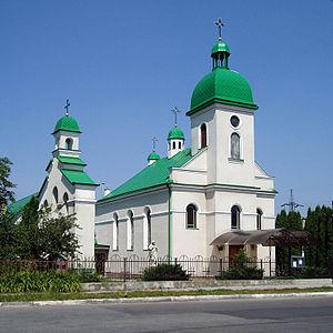 Vynnyky - Image: Church of the Nativity of Saint John the Baptist, Vynnyky (01)