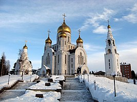 Church of the resurrection of Christ in Khany-Mansiysk.JPG