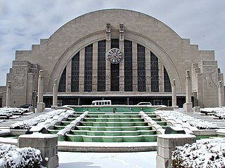 History of Cincinnati Union Terminal History of Cincinnati, Ohios rail terminal