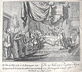 Circa 1727 drawing of the birth of Infante Luis of Spain (future Count of Chinchón) by Pieter Schenk.jpg