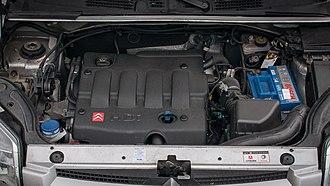 PSA EW/DW engine - Image: Citroen Berlingo 2,0 H Di DW10TD