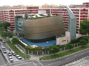 The church building of City Harvest Church, Si...