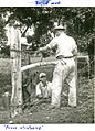"""Civilian Public Service -24, Hagerstown, Maryland, """"Project work - fence stretching"""" (8201421414).jpg"""