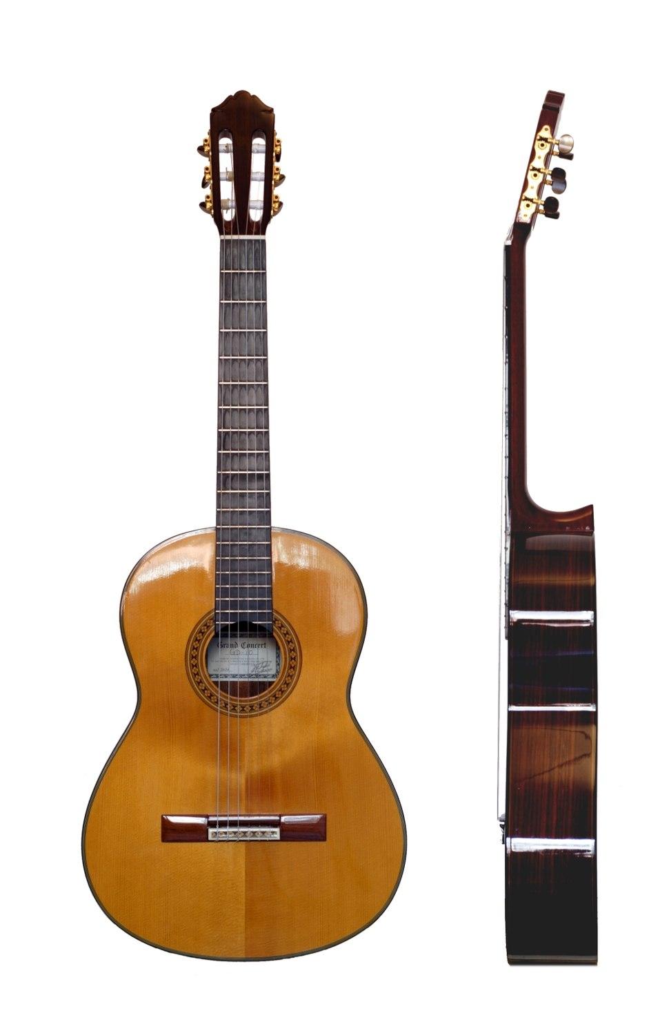 Classical Guitar two views