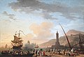 Claude Joseph Vernet - Porto ao pôr-do-sol.jpg