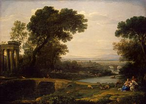 Landscape with the rest on the Flight into Egypt (Noon)
