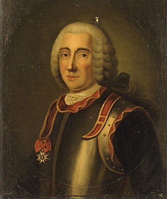 Claude de Forbin - Portrait of Claude de Forbin by Antoine Graincourt, 18th century, Musée de la Marine.