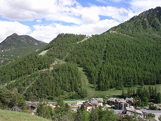 Claviere Comune in Piedmont, Italy