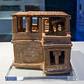 Clay minoan model -restored- of a house, 1600 BCE.jpg