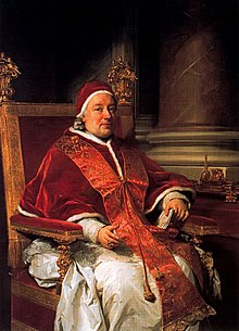 Papa XIII. Clemens'in portresi, Ressam:Anton Raphael Mengs