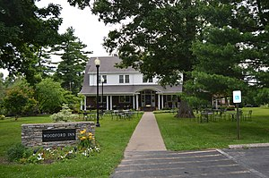 National Register of Historic Places listings in Woodford County, Kentucky - Image: Cleveland House, Woodford Inn