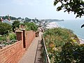 Cliff path at Budleigh Salterton. - geograph.org.uk - 198417.jpg