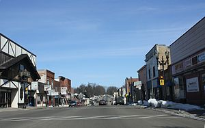 Clintonville, Wisconsin - downtown Clintonville