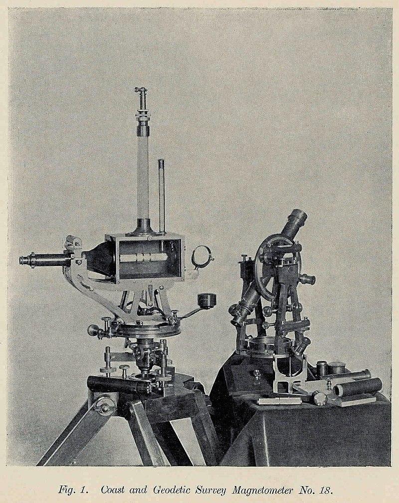 Coast and Geodetic Survey Magnetometer Plate XV Fig 1 WBClark 1897.jpg