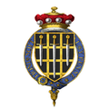 Coat of Arms of John Morris, Baron Morris of Aberavon, KG, PC, QC.png