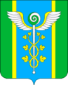 Coat of Arms of Novoivanovskoe municipal district (Moscow oblast).png