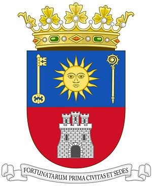 Telde - Image: Coat of Arms of Telde, Canary Islands