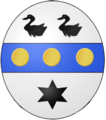 Coat of arms - Elisabeth wife of Pierre CLOU.png