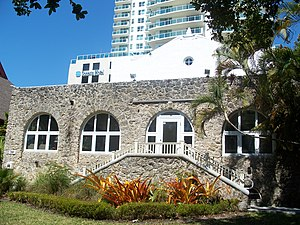 Coconut Grove - The clubhouse of the Woman's Club of Coconut Grove, built in 1921 and designed by Miami architect Walter de Garmo