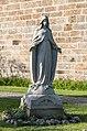 Coesfeld, Lette, St.-Johannes-Kirche, Marienstatue -- 2015 -- 5761.jpg