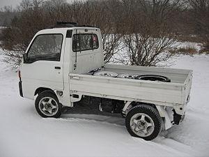 Pickup truck - 1990 Subaru Sambar kei truck