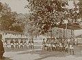 Collectie NMvWereldculturen, RV-A142-1-16, Foto, 'Het korps Djogokarjo van de Kraton van Yogyakarta in de optocht ter gelegenheid van Garebeg', fotograaf K. (Kassian) Céphas, 1888.jpg