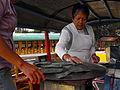 Comida tìpica en las trajineras de xochimilco.JPG