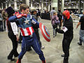 Comikaze Expo 2011 - Captain America vs the Red Skull (6324614805).jpg