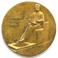Commemorative medal. Rudolf Blaumanis. 1929. T. Zalkaln. Reverse.png