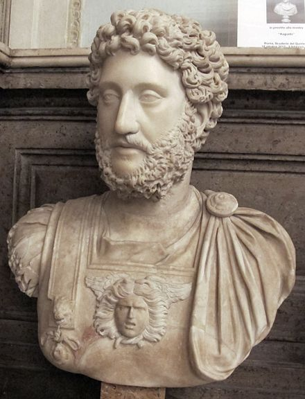 Bust of Commodus from the Capitoline Museum Commodo, 180-192 dc, collez. albani.JPG