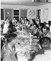 Commodore George A Seitz's dinner party on Kwajalein Atoll, probably August 1947 (DONALDSON 120).jpeg