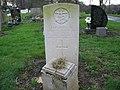 Commonwealth War Grave in Jarrow Cemetery (WW2-31) - geograph.org.uk - 1605055.jpg