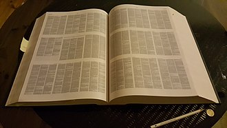 Oxford English Dictionary - The Compact Oxford English Dictionary (second edition, 1991).