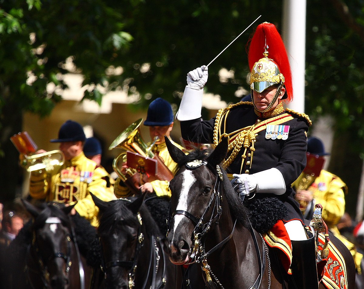 File:Conducting the mounted band.jpg - Wikimedia Commons