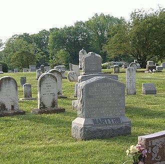 Stephen G. Burbridge - Image: Confederate Martyrs J Town 1