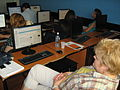 Conference on Open education and teachers' digital competences, FON, Wikipedia Workshop, 2014-2.jpg