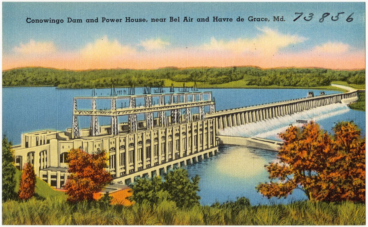 File Conowingo Dam And Power House Near Bel Air And Havre
