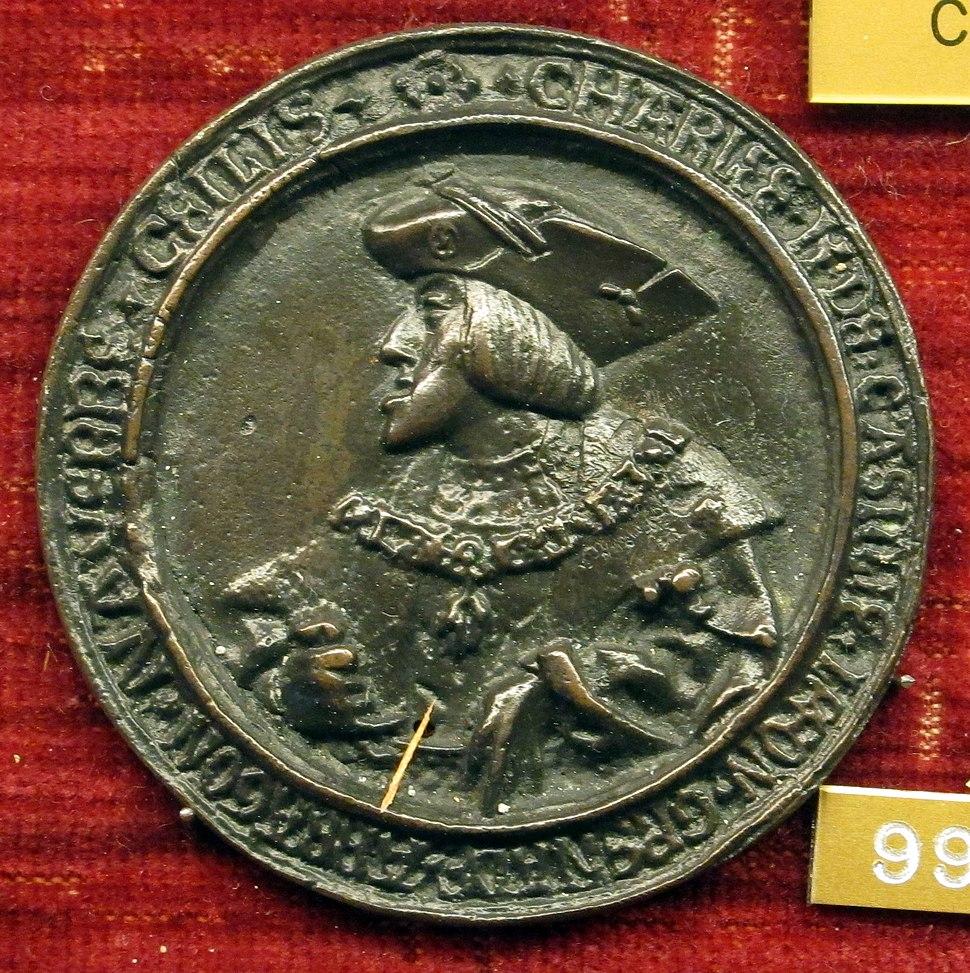 Conrad meit, med. di carlo V, 1520 ca.