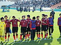 Consadole Sapporo Youth U-15, after the game, 20091227-01.jpg