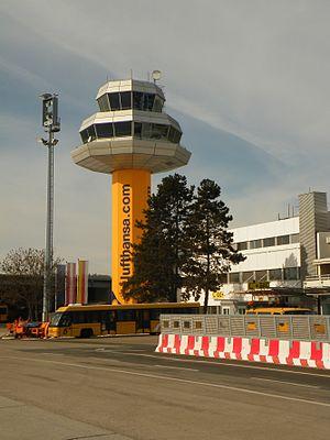 Klagenfurt Airport - Control tower