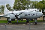 Convair C-131D Samaritan '42806' (29803813144).jpg